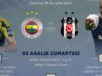 Fenerbahçe-Beşiktaş derbisi için geri sayım