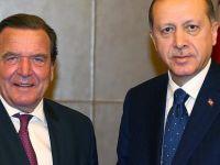 Cumhurbaşkanı Erdoğan, Schröder ile görüştü