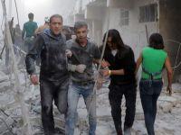 Halep'te sivillerin çığlığı sürüyor