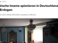 Alman basını: İmamlar Erdoğan için casusluk yapıyor