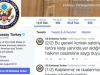 ABD: Kalplerimiz ve dualarımız İstanbul halkıyla birlikte