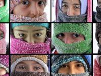 Doğu'da sıcaklık sıfırın altında 34 derece