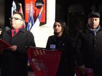 CHP Lyon Birliği'nden teröre ve başkanlık sistemine karşı gösteri