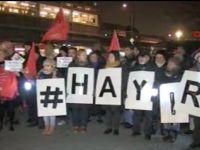 CHP'liler Berlin'de 'Hayır' dedi
