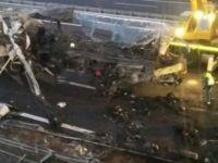 İtalya'da otobüs kazası: 16 ölü