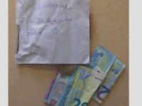 Plaka hırsızı bir özür mektubu ve para bıraktı