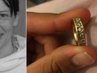 Kaybettiği nikah yüzüğünü Facebook'ta buldu