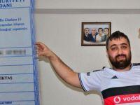 Oğlunun adını Beşiktaş koydu