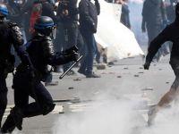Polis karşıtı protestolar Paris sokaklarına yayıldı