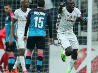Beşiktaş üst tura adını yazdırdı