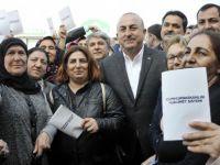 Bakan Çavuşoğlu'ndan 'hayır'a ambargo