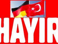 Almanya'daki Türk derneklerinden 'Hayır' kampanyası