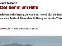 Alman basını: Türkiye,  Almanya'dan ekonomik yardım istedi