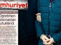 Cinsel taciz haberi Cumhuriyet'i toplattırdı