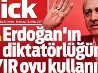 İsviçre gazetesinden 'Hayır' çağrısı