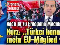 Avusturya: Türkiye AB'ye kesinlikle giremez