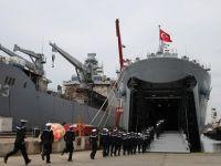 Türk savaş gemisi Deniz Kuvvetleri'ne teslim edildi