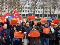 CHP Nürnberg'den referandum protestosu