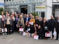 Emeklilerden Öz Kayseri Fabrikası'na ziyaret