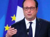 Hollande: 7 Mayıs'ta Macron'a oy verin