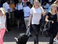Turist sayısındaki azalma sürüyor
