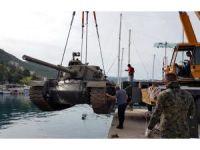 Antalya'da tank batırıldı