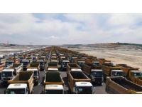 3. Havalimanı'nda 1453 kamyonla rekor