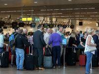 Brüksel havalimanında elektrik kesintisi