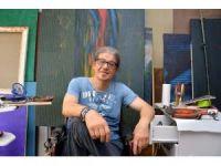 Türk ressamın resimleri Almanya'da sergilenecek
