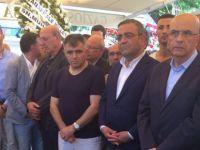Berberoğlu: Burası cenaze, siyaset konuşmak istemiyorum