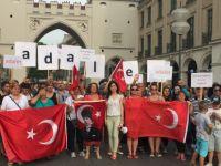Adalet Yürüyüşü'ne Münih'te destek