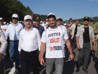 Yurt dışından Adalet Yürüyüşü'ne katıldılar