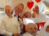 Bremenli gurbetçiden uçakta evlilik teklifi