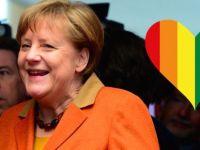 Merkel, eşcinsel evliliklere sıcak bakıyor
