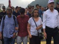 Gezi aileleri de 'Adalet Yürüyüşü'nde