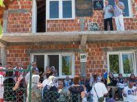 Visegrad'da diri diri yakılan Boşnaklar anıldı