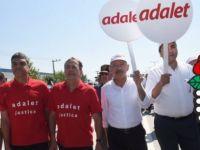 Sosyalist Enternasyonal'den Adalet Yürüyüşü'ne destek
