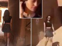 Mini etek giydiği gözaltına alınan kız serbest