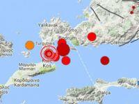 Ege'de 6.6 büyüklüğünde korkutan deprem