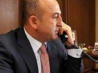 Bakan Çavuşoğlu, Gabriel'le telefonla görüştü