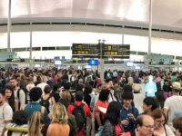 Barselona Havaalanı'nda grev