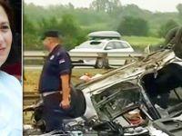 Gurbetçi aile dönüş yolunda kaza yaptı: 1 ölü, 4 yaralı