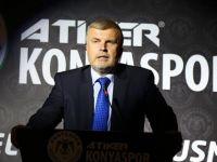 Konyaspor Başkanı Şan istifa etti