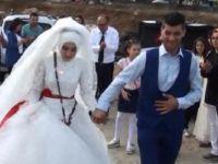 Düğüne sosyal medyadan misafir yağmuru