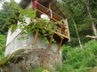 Gurbetçinin Rize'deki sıra dışı evi
