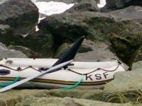 Gurbetçinin teknesi Rize'de alabora oldu