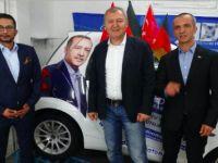 Seçim otomobilini Erdoğan'a hediye edecek