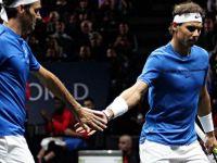 Nadal-Federer çiftinden ilk galibiyet