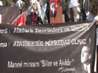 'Atatürksüz Eğitime Hayır' mitingi