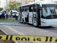 Polis servisine bombalı saldırı